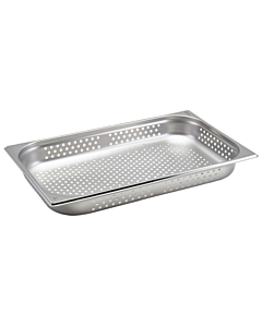 Perforated Stainless Steel Gastronorm Pan 1/1 530x325x65mm