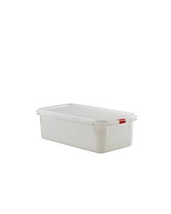 Genware Polypropylene Storage Container 1/3 100mm 4.3 litres