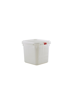 Genware Polypropylene Storage Clear Container 1/6 2.8 Litres