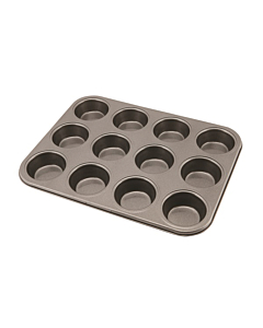 Carbon Steel Non-stick 12 Hole Muffin Tray