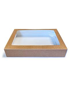 Simply Kraft Large Cardboard Platter Box