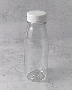 250ml Empty PET Bottles & White Lids - Recyclable