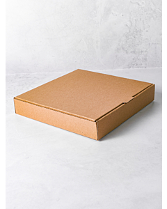 10 Inch Pizza Boxes Plain Brown Compostable