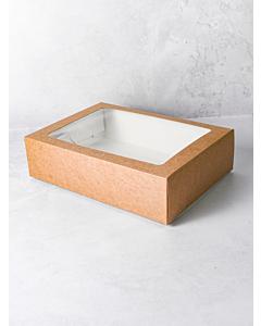 Simply Kraft Small Cardboard Platter Box