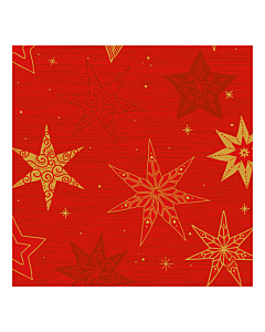 Star Stories Red Christmas Paper Napkin 40cm 3ply