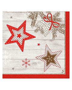 Cozy Winter Christmas Paper Napkin 40cm 3ply
