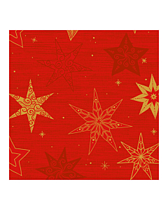 Star Stories Red Christmas Paper Napkin 40cm Classic