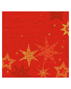 Star Stories Red Christmas Paper Napkin 40cm