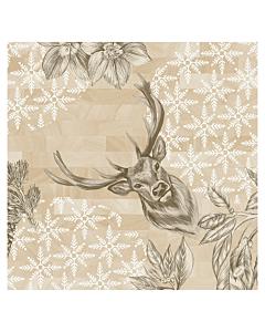 Wild Deer Christmas Paper Napkin 40cm