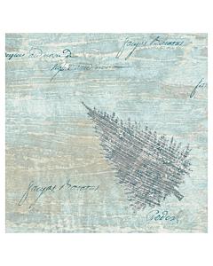 Blue Winter Christmas Paper Napkin 40cm