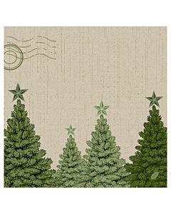 Fir Forest Christmas Paper Napkin 40cm